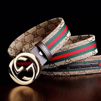 Men's And Women's Red And Green Belt, Letter Buckle Belt, Casual And Versatile Student Trend Belt