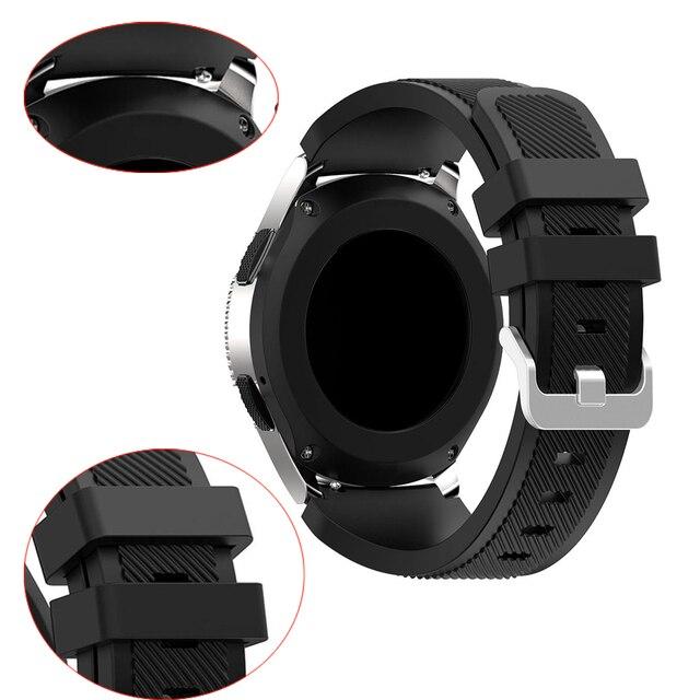 Correa de reloj para Ticwatch Pro S2 E2 Samsung Gear S3 Huawei GT Honor Watch banda mágica 22mm Sillicone Sport pulsera cinturón hombre mujer