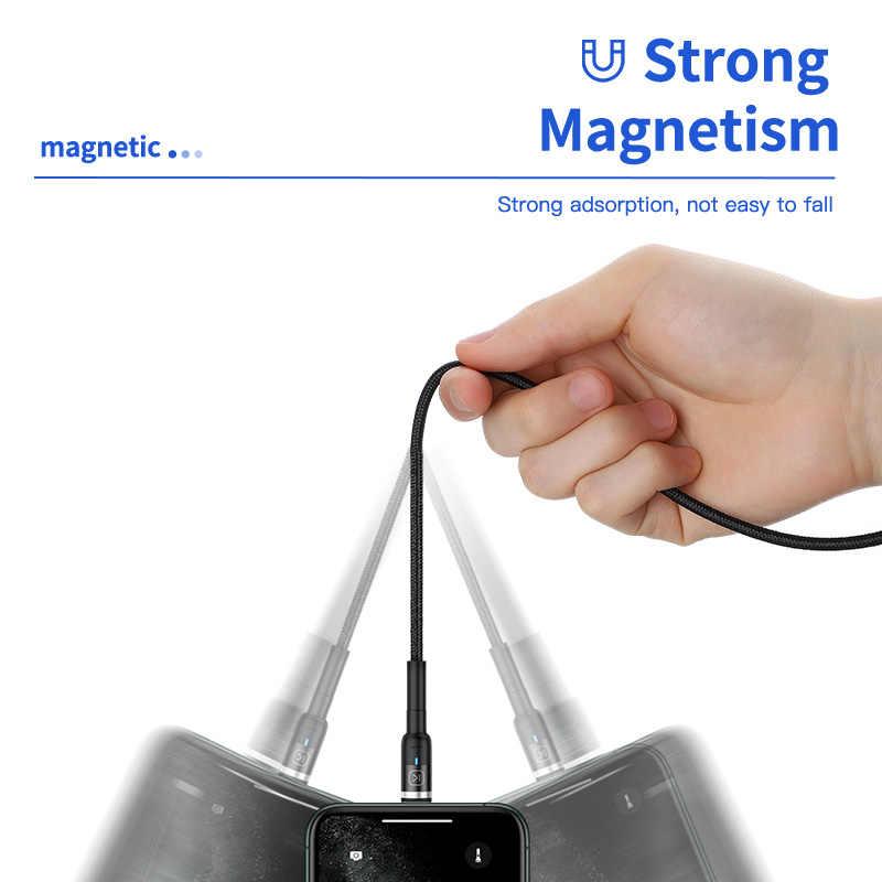 KUULAA Magnetico Micro USB di Tipo C Cavo Per il iPhone Xiaomi Android Del Telefono Mobile di Ricarica Veloce USB Magnete Cavo Filo del Caricatore cavo