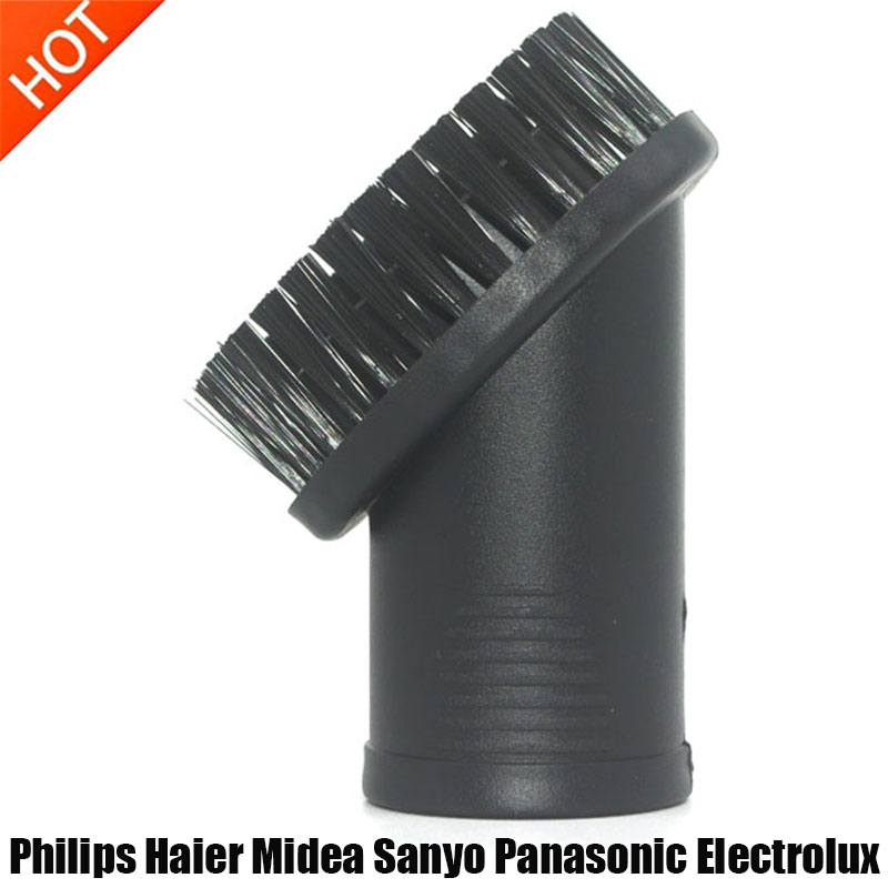 32mm Rotatable Round Brush Head For Philips Haier Midea Sanyo Panasonic Electrolux Vacuum Cleaner Replacement Part Accessories