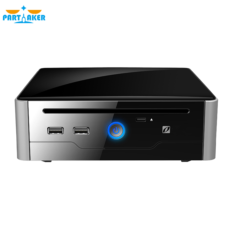 Intel Core I5 4200M 4300M Partaker B10 Mini PC Windows 10 HDMI DVI Dual Display Port Mini HTPC Mini Computer Linux I5