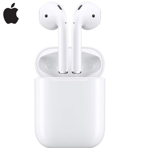 Apple Airpods беспроводной зарядный чехол наушники 2-го поколения оригинальные Bluetooth наушники для iPhone12 8 11 Plus iPad watch