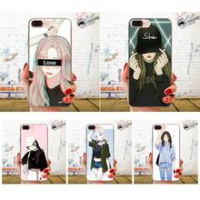 TPU Hot Selling Comic Pretty Girl For Galaxy Grand A3 A5 A7 A8 A9 A9S On5 On7 Plus Pro Star 2015 2016 2017 2018(China)
