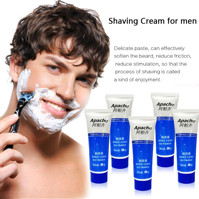 New Quality Men's Shaving Cream Softens The Beard With All Skins Shave Care Shaving Cream For Men Sensitive Skin