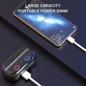 Image 3 - Bluetooth 5.0 Wireless Earphones Sport Waterproof 9D Hifi Stereo Earbuds With Microphone 2000mAh Charging Box