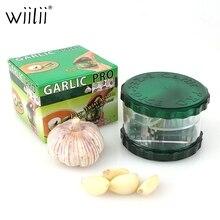 Garlic Press Crusher Chopper Box Slicer Cutter Garlic Grinding Ginger Twister Manual Press No-touch Grater Mincer Kitchen Gadget