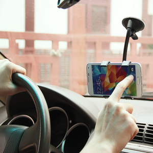 360 Degree Car Windscreen Dashboard Holder Mount For IPhone Samsung Xiaomi GPS Mobile Phone Clip Suction Cup Phone Holder