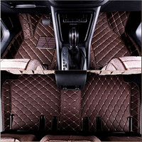 Best quality mats! Custom special car floor mats for Audi Q8 2020 waterproof non slip car rugs carpets for Q8 2019,Free shipping