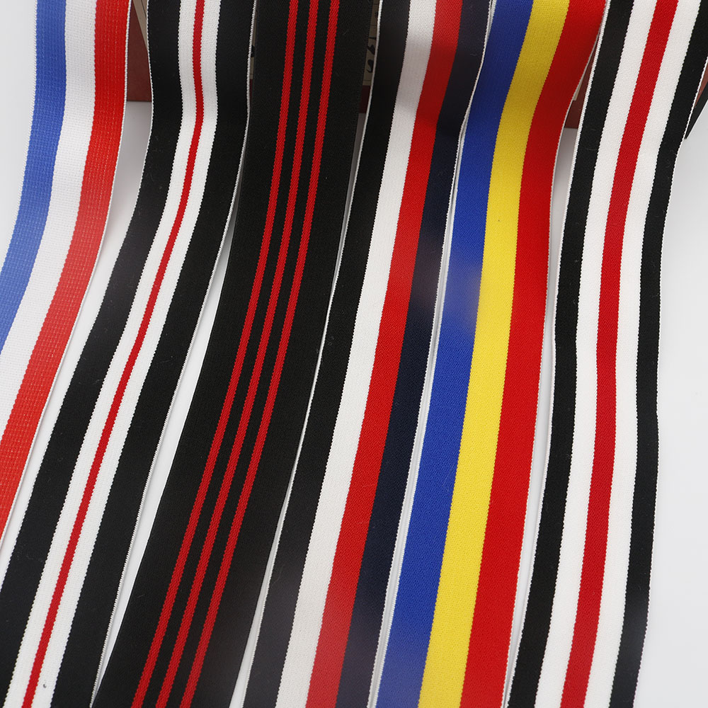 40mm Width Multi Color Soft Polyester Elastic Band Trousers Elastic Ribbon 1M Webbing Accessories