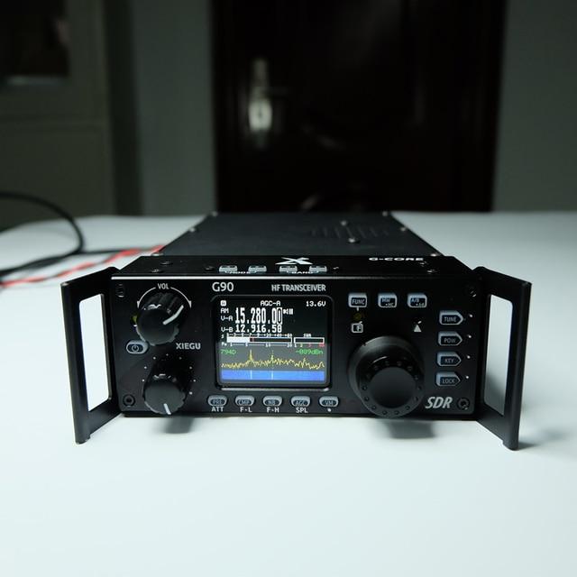 Xiegu G90 HF משדר 20W SSB/CW/AM/FM SDR רדיו מובנה אנטנת מקלט