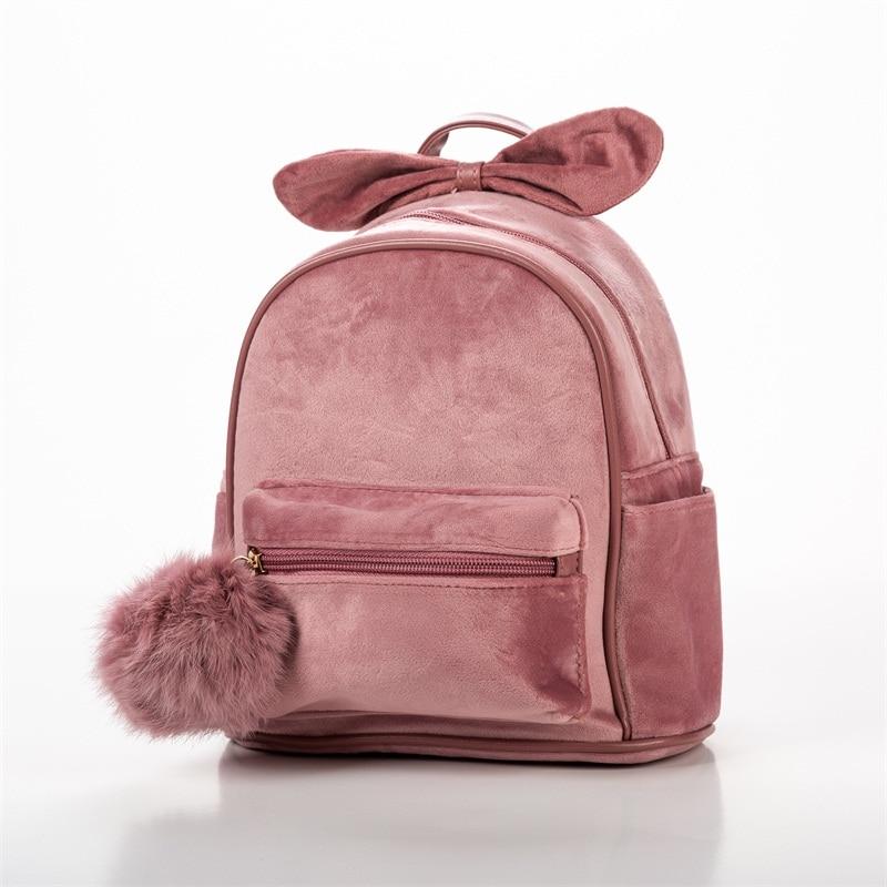 Детская сумка Детские Мультяшные рюкзаки Детский сад Школьный бант Детская сумка детские школьные сумки рюкзак для девочек