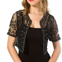 Women Basic Coat 2020 Summer Style Women Perspective Shawl Fashion Hollow Out La