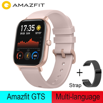 NEW Amazfit GTS Smart Watch 5ATM Waterproof Swimming Smart watch 14Days Battery Life Music Control for Xiaomi IOS Phone Global