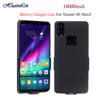 High quality new 10000mAh Battery Case For Mi Max 3 external power supply Rear battery pack for Xiaomi Max3 charger case