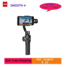 цена на Zhiyun Smooth 4 3-Axis Focus Pull & Zoom Capability Handheld Gimbal Stabilizer for iPhone  Samsung HUAWEI