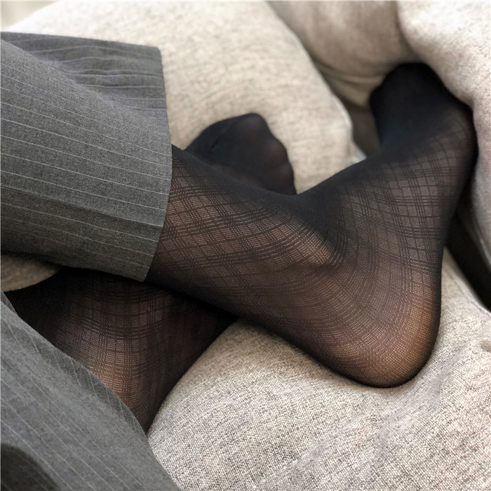 Men Sheer Dress Socks Silk Thin Breathable Socks Sexy Softy Silk Socks Formal Dress Silk Socks Gay Male Sexy Silk Socks Men