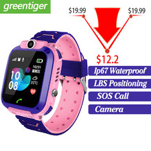 2019 New Smart watch LBS Kid SmartWatches Baby Watch for Children SOS Call Location Finder Locator Tracker Anti Lost Monitor+Box(China)