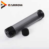 Barrow 130mm 180mm 230mm 280MM cylindrical water tank 50MM diameter POM cooler reservoir big container  OBS YK130 50 V2|acrylic water tank|water tank|cylindrical tank -