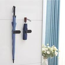 Семейные крючки для хранения зонтов пластиковые клейкие настенные