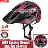 2019 corrida capacete de bicicleta com luz in-mold mtb estrada ciclismo capacete para homens mulheres ultraleve capacete esporte equipamentos de segurança 19