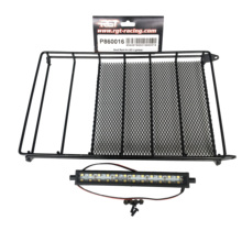 RGT RC Spare Parts P860016 Roof Rack with Light Bar For EX86100 Rock Cruiser Crawlers