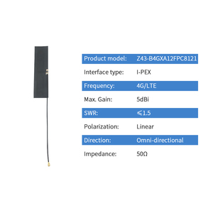 Image 2 - GSM 3G Built in Antenna 4G Internal FPC Antenna Omni IPX IPEX RF1.13 Phone Build in Bluetooth Antena WLAN Aerial TX4G FPC 8121