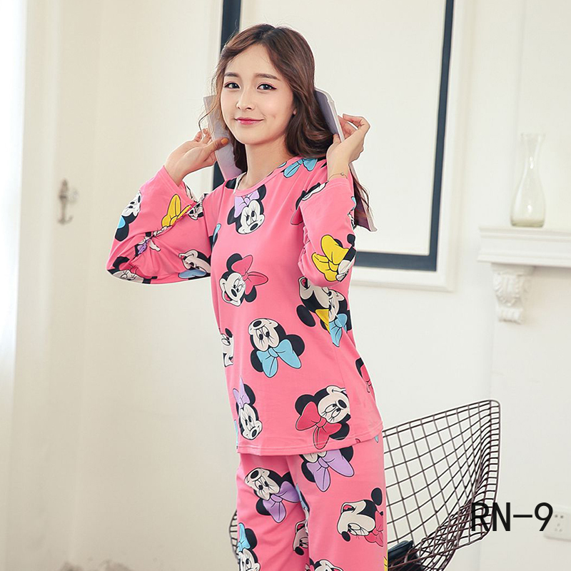 Großhandel Pyjamas Sets Frühling Herbst Dünne Cartoon Kinder Lange Nachtwäsche Anzug Kinder Homewear Große Mädchen Pyjamas Set Geschenk Lounge