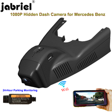 Jabriel Hidden 1080P Car dvr dash cam 24 Hour Recorder rear Camera for mercedes benz cla 200 220 250 gla 180 200 250 w117 w156 cheap Novatek Hidden Type Class 10 Connect With Charger Work 170° 1920x1080 NONE G-sensor Motion Detection Cycle Recording SD MMC Card