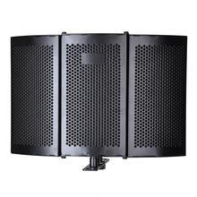 Microphone de Studio pliant bouclier d'isolement enregistrement panneau de mousse absorbeur de son outil d'enregistrement professionnel