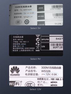 Image 3 - Unnlink Cable de alimentación de barril USB para ventilador de enrutador, USB a DC de voltaje de 5,5x2,1mm, 3,5x1,35mm, 5V, 9V, 12V, 0,8 1A