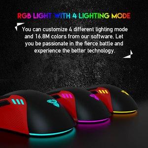 Image 3 - FANTECH X15 Optische USB Gaming Maus Einstellbar 4800 DPI 7D Makro RGB Gaming Maus Für FPS LOL Spiel Maus PC
