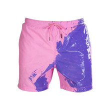 Summer Quick Dry Color-changing Beach Shorts Men Quick Dry S