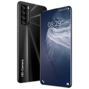 Глобальный разблокированный смартфон V19 pro 6,8 дюймов полный Экран 4G/5G Смартфон Android 12 Гб + 512 Гб сотовом телефоне мобильный телефон с двумя sim картами Смартфоны      АлиЭкспресс