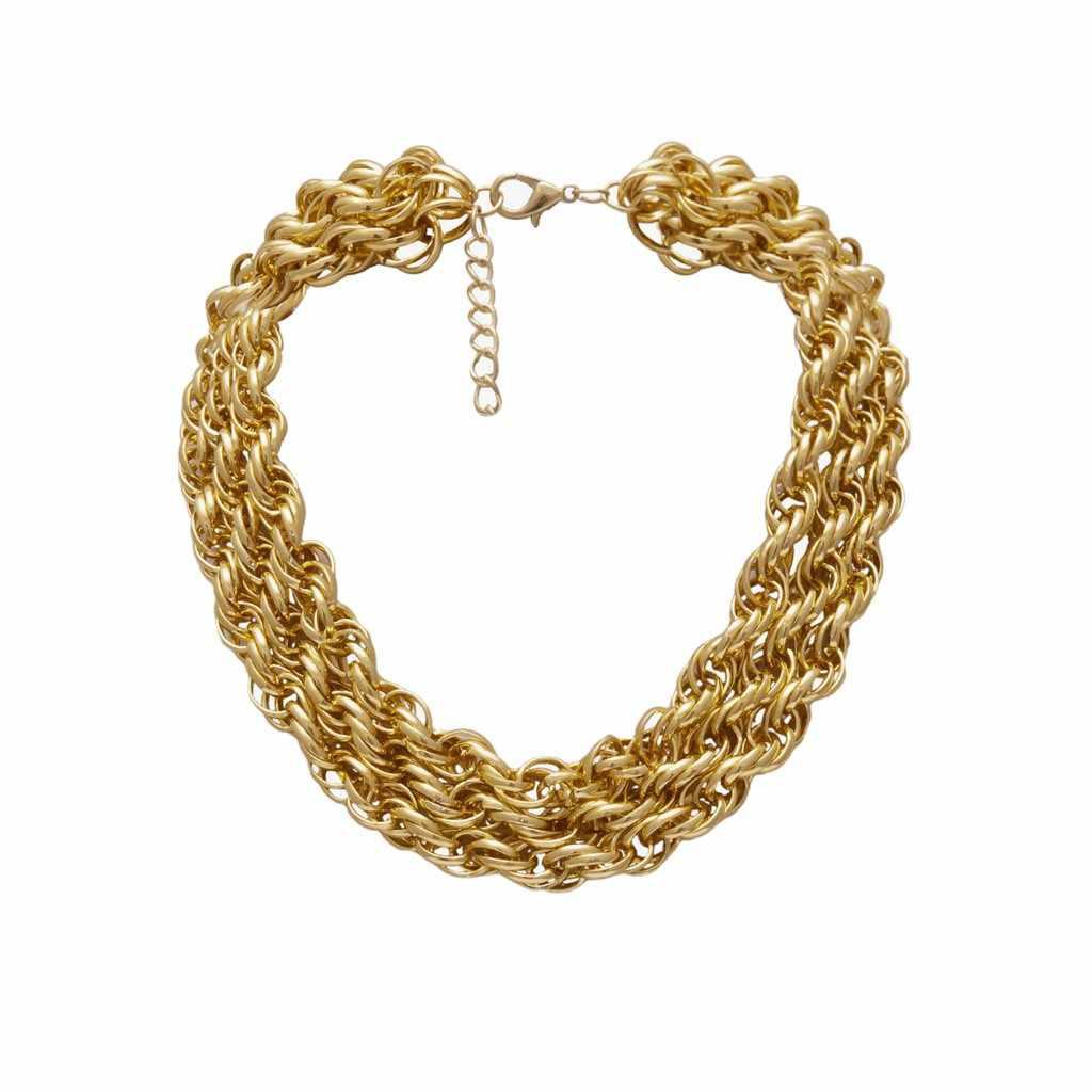 קובני קישור שרשרת נשים זהב צבע נירוסטה Clubnight גדול שמנמן מינימליסטי ראפר שרשרת שרשרת Hiphop תכשיטי מתנות