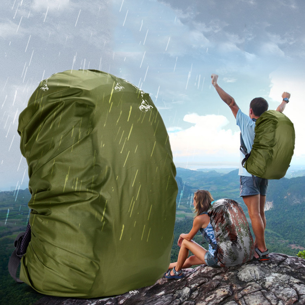 Large Capacity Waterproof Backpack Cover Outdoor Mountaineering Bag Rainproof Rain Cover For Travel Bag