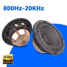 Threeaudio High quality car stereo high fidelity midrange 3.5 inch full range speaker car door car audio music stereo tweeter