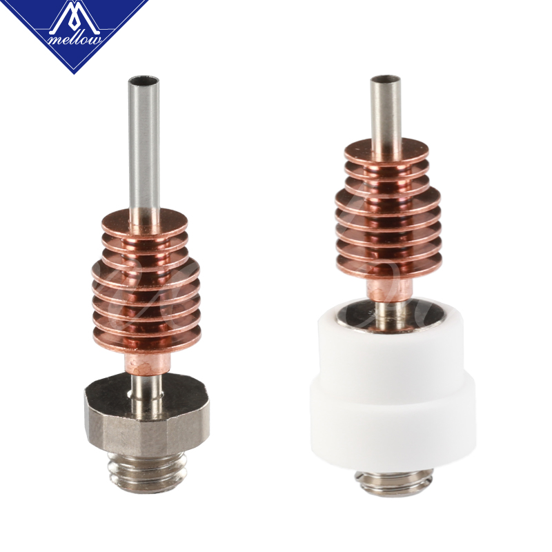 Image 3 - Mellow Nf Crazy Hotend With Bmg Extruder Plated Copper V6 Nozzle Kit For 3D Printer Blv Printing 1.75MM Abs Petg Tpu Nylon Peek-in 3D Printer Parts & Accessories from Computer & Office