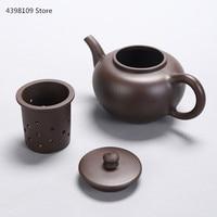 450 900ml authentic Yixing purple sand teapot / handmade teapot ceramic liner tea leak / Chinese Kung Fu tea set kettle