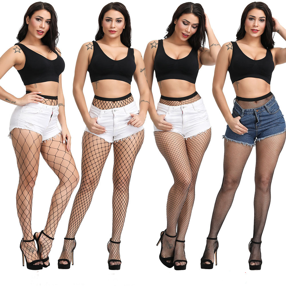 2020 Women Sexy Products  Hollow Out Hosiery New Sexy Stockings Net Fishnet Stocking  Black Fishnet Stocking