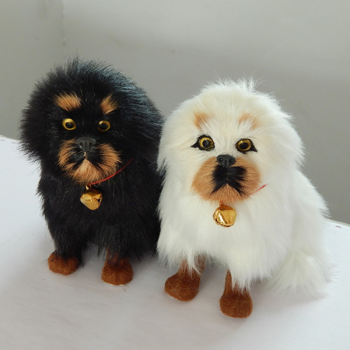 Dog Animal Plush Toy Cute Stuffed Gift Creative Realistic Plush Toys Baby Girl Simulation Peluche Pieuvre Bedroom Toys EA60FZ