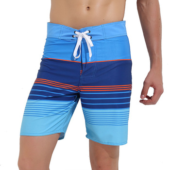 Sbart New Style Quick-Dry Beach Shorts Men's Hot Springs Swimming Trunks Seaside Comfortable Beach Holiday Large Trunks Fashion