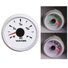 Meter-Indicator Water-Level-Gauge Waterproof Boat Backlight for Car Truck 8-Color 12v/24v