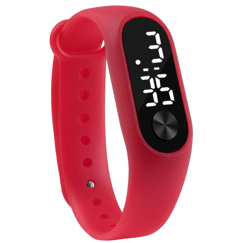 أفضل ماركة الرجال النساء LED الساعات للجنسين ساعة رقمية ساعة إلكترونية Hodinky الذكور الإناث ساعة ساعة يد رياضية للبنين بنات