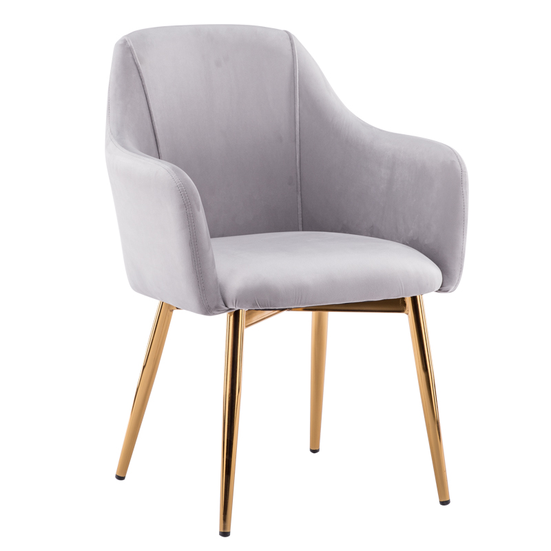 Nordic Dining Chair Simple Home Back Stool Ins Net Red Makeup Chair Iron Art Manicure Milk Tea Shop Negotiation Chair