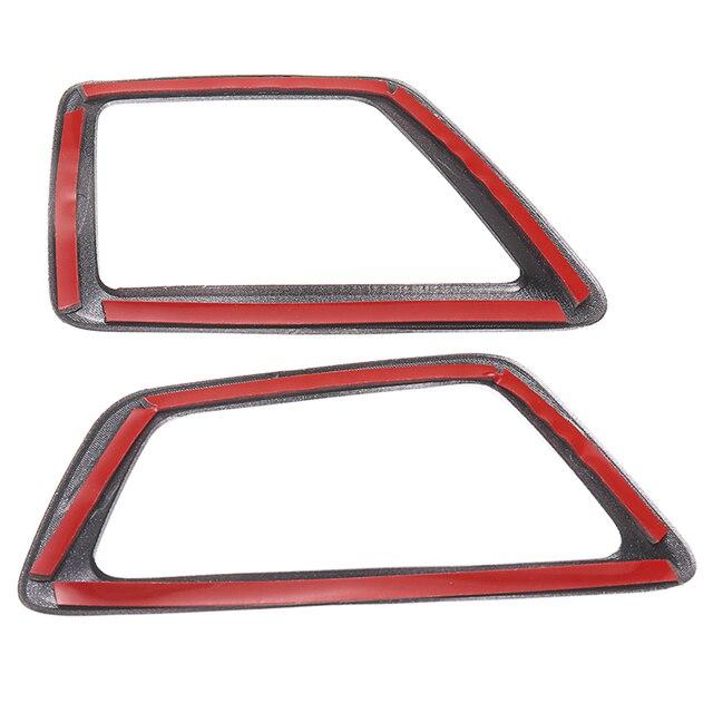 2 шт наклейка на верхнюю часть вентиляционного отверстия автомобиля фотография