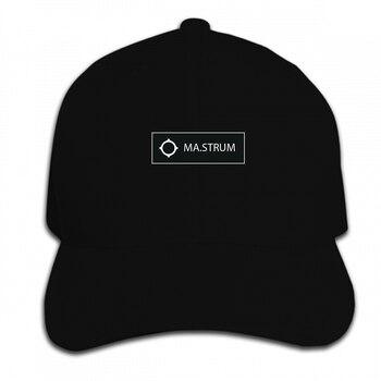 Imprimir personalizado gorra de béisbol MA Strum icono Logo de caja hombres sombrero pico Cap