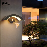Modern Wall Light Scrub Outdoor Garden Door Lamp Waterproof Patio Lights Double Head Wall Lights Out door lighting