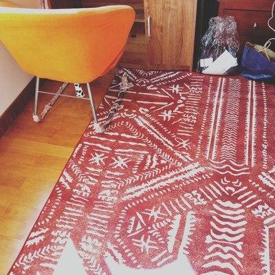 Mode coloré belle bande dessinée Sheeps salon décoratif tapis zone tapis salle de bain plancher porte bébé enfants ramper tapis de jeu CF