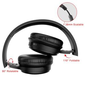 Image 4 - H1 auriculares inalámbricos con Bluetooth V5.0, auriculares estéreo HIFI HD con reducción de ruido y ranura para tarjeta TF para teléfonos IOS y Android