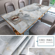 Multi-purpose Stickers Marble Waterproof Wallpapers PVC Kitchen Table Pasters Oilproof Countertop DIY Self Adhesive Wall Sticker